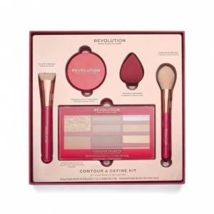 makeup revolution contour  define kit zestaw
