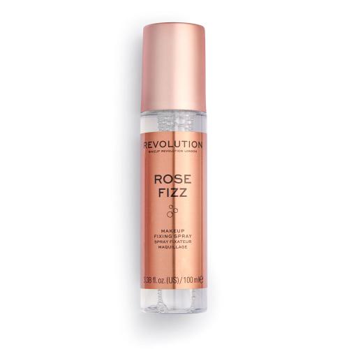 makeup revolution fixing spray rose fizz