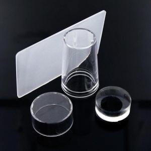 przezroczysty silikonowy stempelek  sciagacz