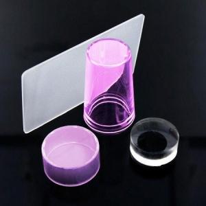 rozowy silikonowy stempelek  sciagacz