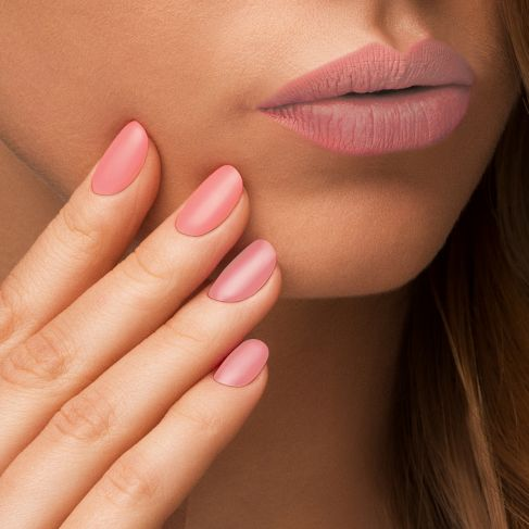 semilac matt lips peach milk 055..