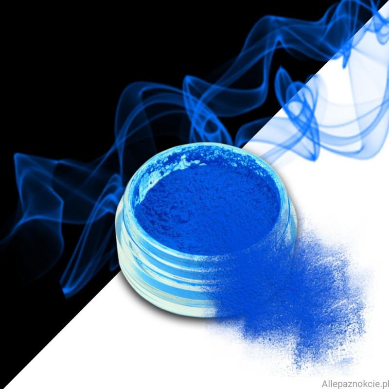 smoke nails pigment do efektu dymu blue 12