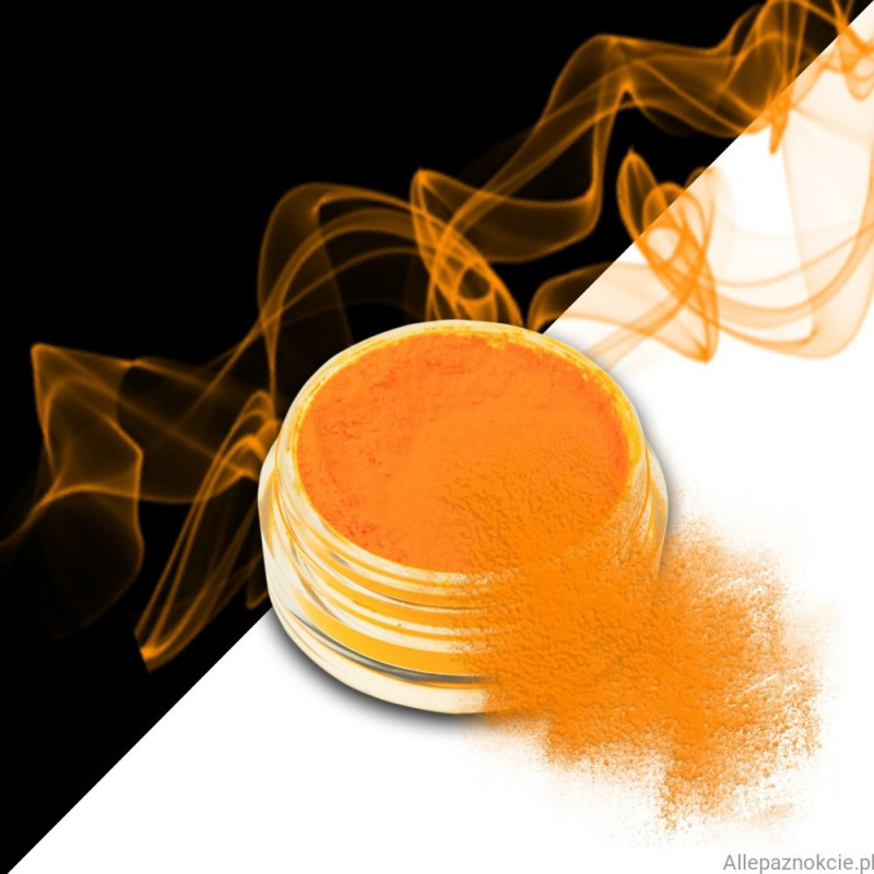 smoke nails pigment do efektu dymu l.orange 04