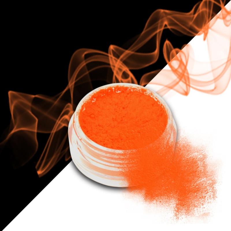 smoke nails pigment do efektu dymu orange 05