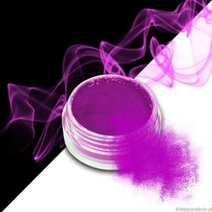 smoke nails pigment do efektu dymu purple 11