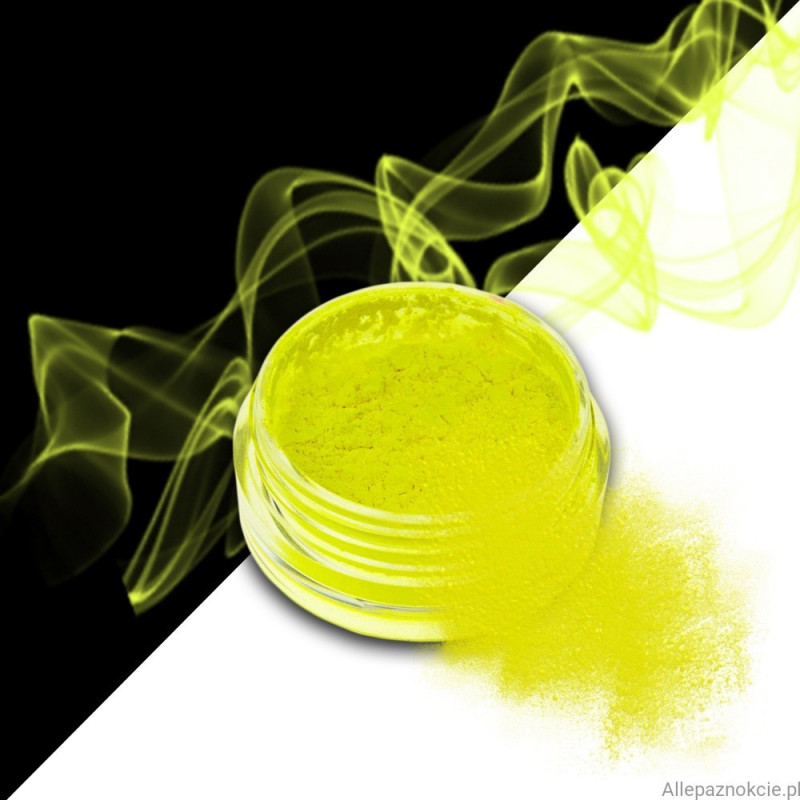 smoke nails pigment do efektu dymu yellow 03