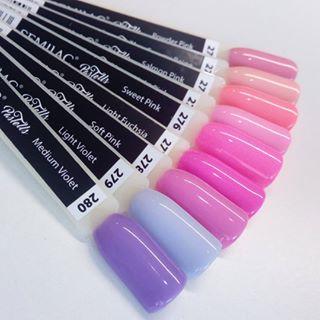 272 semilac pastells powder pink.