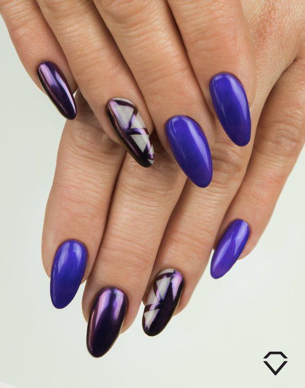 efekt kameleona semiflash chameleon violet shell 02.