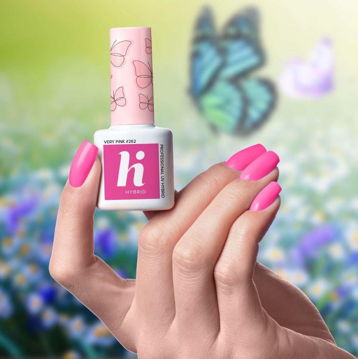 262 lakier hi hybrid very pink 5ml